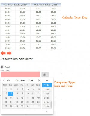 11a Reservations settings datepicker and calendar day datetime